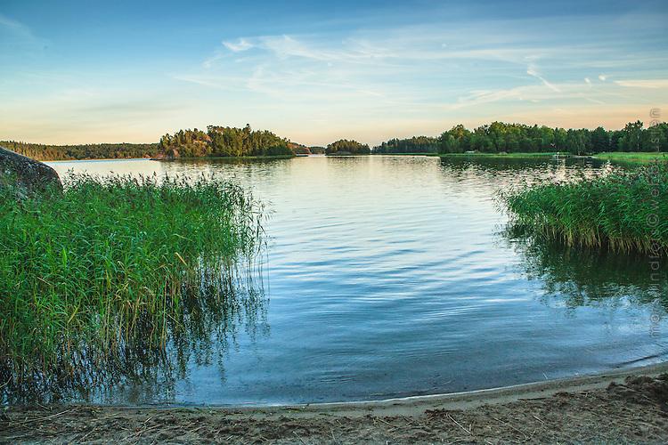 Badplats badbrygga Käringboda Nynäshamn Stockholms skärgård