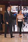 King Felipe VI and Queen Letizia of Spain during the Princess of Asturias Awards concert in Oviedo . October 17, 2019.. (ALTERPHOTOS/ Francis Gonzalez)