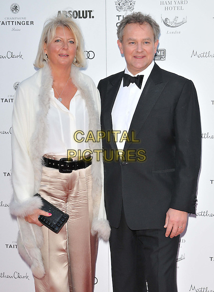 LONDON, ENGLAND - APRIL 19: Lulu Williams &amp; Hugh Bonneville attend the Gala Celebration in Honour of Kevin Spacey, The Old Vic theatre, The Cut, on Sunday April 19, 2015 in London, England, UK. <br /> CAP/CAN<br /> &copy;Can Nguyen/Capital Pictures