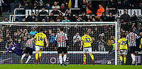 Newcastle United's Matt Ritchie scores his side's equalising goal from the penalty spot<br /> <br /> Photographer Alex Dodd/CameraSport<br /> <br /> Emirates FA Cup Third Round - Newcastle United v Blackburn Rovers - Saturday 5th January 2019 - St James' Park - Newcastle<br />  <br /> World Copyright &copy; 2019 CameraSport. All rights reserved. 43 Linden Ave. Countesthorpe. Leicester. England. LE8 5PG - Tel: +44 (0) 116 277 4147 - admin@camerasport.com - www.camerasport.com