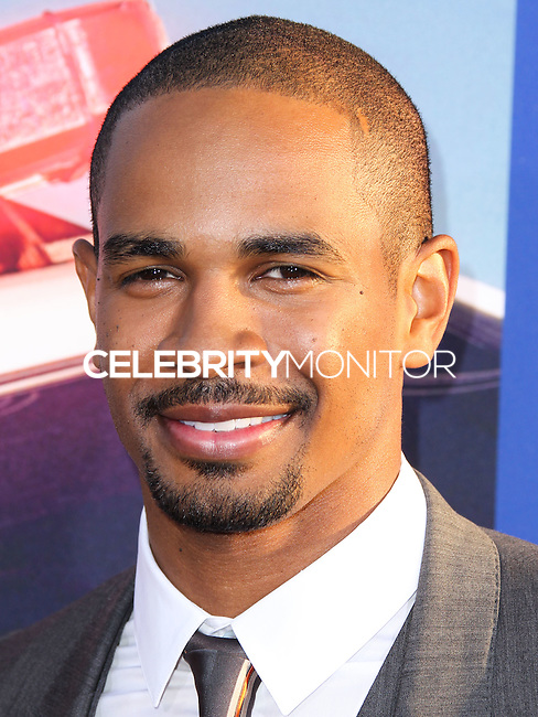 """HOLLYWOOD, LOS ANGELES, CA, USA - AUGUST 07: Damon Wayans Jr. at the Los Angeles Premiere Of 20th Century Fox's """"Let's Be Cops"""" held at ArcLight Cinemas Cinerama Dome on August 7, 2014 in Hollywood, Los Angeles, California, United States. (Photo by Xavier Collin/Celebrity Monitor)"""