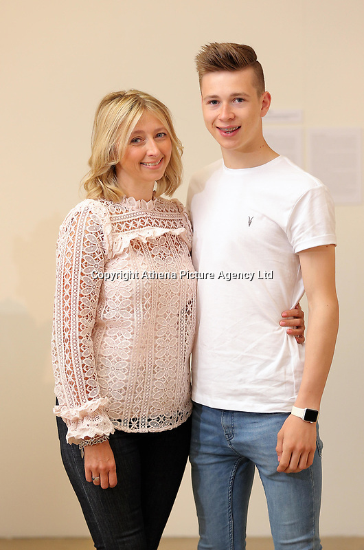 Pictured: Helen Humphreys with son Llew in Carmarthen, Wales, UK<br />Re: Diabetes UK Cymru case study.