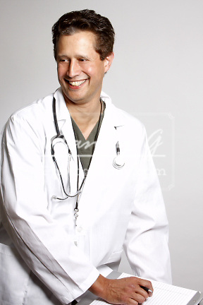 A medical staff doctor