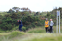 Zhen Bontan (NED) on the 7th tee during Round 3 Matchplay of the Women's Amateur Championship at Royal County Down Golf Club in Newcastle Co. Down on Friday 14th June 2019.<br /> Picture:  Thos Caffrey / www.golffile.ie