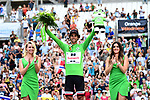 Michael Matthews (AUS) Team Sunweb retains the Green Jersey on the podium at the end of Stage 20 of the 104th edition of the Tour de France 2017, an individual time trial running 22.5km from Marseille to Marseille, France. 22nd July 2017.<br /> Picture: ASO/Alex Broadway | Cyclefile<br /> <br /> <br /> All photos usage must carry mandatory copyright credit (&copy; Cyclefile | ASO/Alex Broadway)