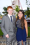 Having fun at the Causeway Comprehensive Debs on Thursday at The Brandon Hotel were Stephen Murphy and Lorraine Keane