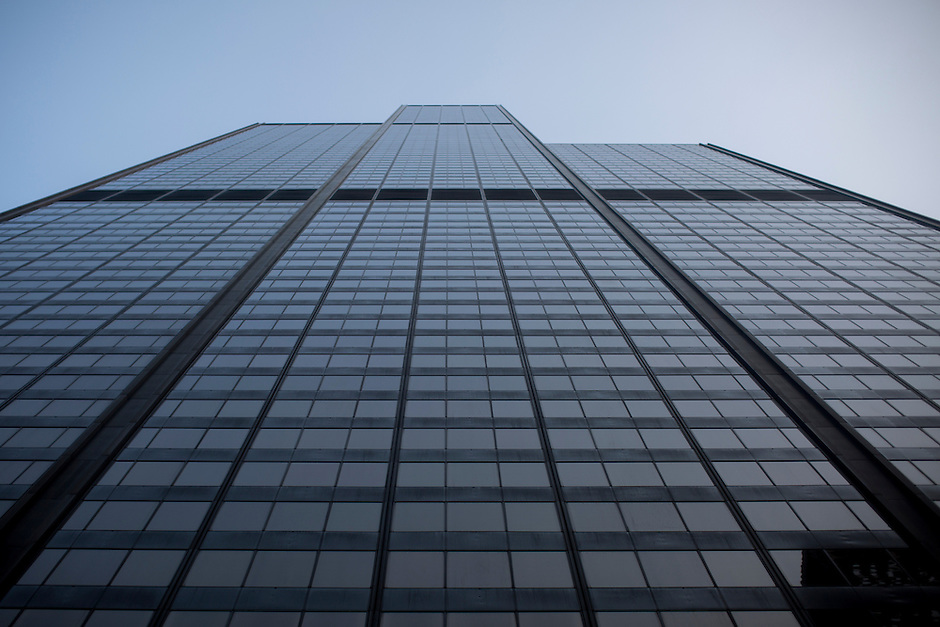 The Willis Tower is seen on Sunday, Aug. 30, 2015, in Chicago. (Photo by James Brosher)