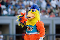 July 15, 2009: The Famous Chicken, also commonly known as the San Diego Chicken, performs during the 2009 Triple-A All-Star Game at PGE Park in Portland, Oregon.
