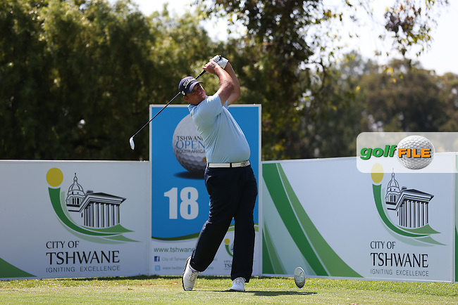 Mark Williams (ZIM) plays from the last during Round Three of the Tshwane Open 2015 at the Pretoria Country Club, Waterkloof, Pretoria, South Africa. Picture:  David Lloyd / www.golffile.ie. 14/03/2015