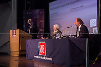 (From L to R) Paul Kelly, Sergio Mattarella &amp; Maurice Fraser. <br />