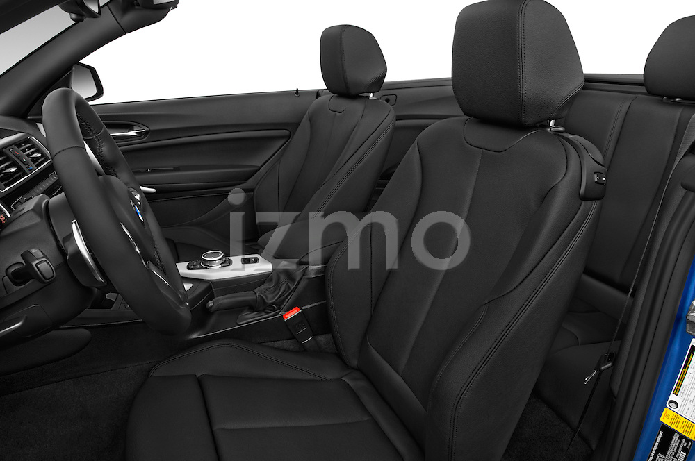 Front seat view of 2017 BMW 2-Series M230i 2 Door Convertible Front Seat  car photos