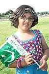 Manal Jahangir celebrating Pakistani Independence Day in Rose Hall...Picture Jenny Matthews/Newsfile.ie