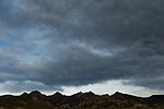 Storm over mountain range, Abra Granada, Andes, northwestern Argentina