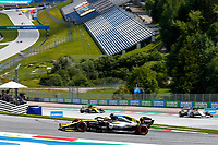 12th July 2020; Styria, Austria; FIA Formula One World Championship 2020, Grand Prix of Styria race day; FIA Formula One World Championship 2020, Grand Prix of Styria,  31 Esteban Ocon FRA, Renault DP World F1 Team