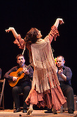 LONDON, ENGLAND - Ballet Flamenco Eva Yerbabuena at Sadler's Wells Flamenco Festival, Eva Yerbabuena dancing