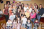 ENGAGEMENT: Celebrating their engagement in the Abbey Gate Hotel on Friday evening were Matt Smith and Grainne Coffey of Kerins Park, Tralee (seated front centre), along with family and friends..