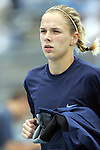 09 October 2005: North Carolina's Lindsay Tarpley. The Duke Blue Devils defeated the #1 ranked Carolina Tar Heels 2-1 at Fetzer Field in Chapel Hill, North Carolina in a regular season Atlantic Coast Conference women's soccer game.