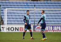 Joe Jacobson of Wycombe Wanderers after his side concede a second goal during the The Checkatrade Trophy - EFL Trophy Semi Final match between Coventry City and Wycombe Wanderers at the Ricoh Arena, Coventry, England on 7 February 2017. Photo by Andy Rowland.