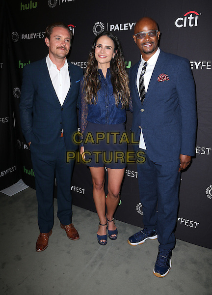 08 September 2016 -  Beverly Hills, California - Clayne Crawford, Jordana Brewster, Damon Wayans, Sr.. The Paley Center For Media's PaleyFest 2016 Fall TV Preview: Lethal Weapon - FOX held at The Paley Center for Media.       <br /> CAP/ADM/FS<br /> &copy;FS/ADM/Capital Pictures