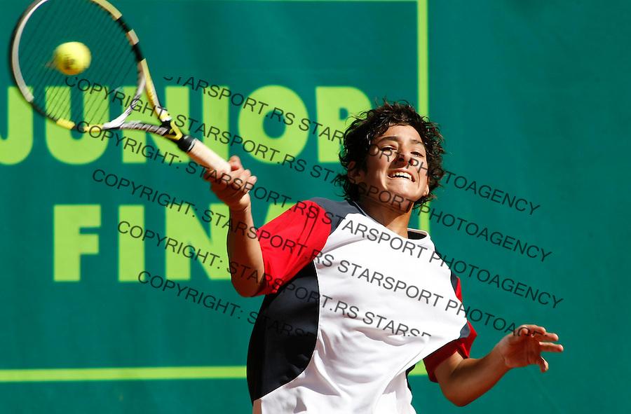 Tenis, World Championship U-14.World U-14 championship.Chile-Russia.Christian Garin Vs. Dmitry Popko.Christian Garin.Prostejov, 05.08.2010..foto: Srdjan Stevanovic/Starsportphoto ©