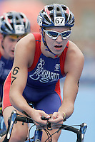 31 AUG 2007 - HAMBURG, GER - Willy Pickhardt (USA) - Junior Mens World Triathlon Championships. (PHOTO (C) NIGEL FARROW)