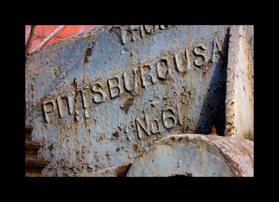 Industrial textures and abstracts - Pittsburg USA, No.61