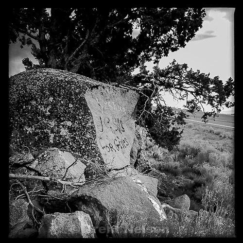 jesus forgives, on rock, Sunday August 4, 2013. yeshua