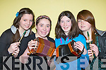 Musicians Niamh Murphy, Shauna Murphy, Sinead O'Sullivan and Holly O'Meara Milltown Youth Club who participated in the Mid Kerry Youth club talent show in Keel on Friday night.