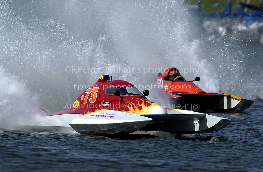 S-75 and Cs-60     (2.5 Litre Stock hydroplane(s)