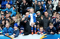 Blackburn Rovers Fans applaud the team at the end of todays match<br /> <br /> Photographer Rachel Holborn/CameraSport<br /> <br /> The EFL Sky Bet League One - Blackburn Rovers v Southend United - Saturday 7th April 2018 - Ewood Park - Blackburn<br /> <br /> World Copyright &copy; 2018 CameraSport. All rights reserved. 43 Linden Ave. Countesthorpe. Leicester. England. LE8 5PG - Tel: +44 (0) 116 277 4147 - admin@camerasport.com - www.camerasport.com