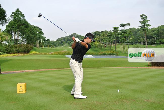 Daisuke Kataoka (JPN) on Day 2 of the Maybank Malaysian Open 2012 at Kuala Lumpur Golf and Country Club, Kuala Lumpur, Malaysia...(Photo Jenny Matthews/www.golffile.ie)