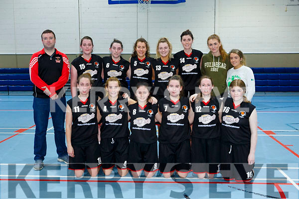 St. Mary's  at the Basketball National Cup St Mary's v Templeogue at Castleisland Community Centre on Sunday