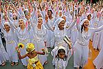 Carnaval de rua. Bloco afro Ilu Oba de Min. Sao Paulo. 2015. Foto de Lineu Kohatsu.
