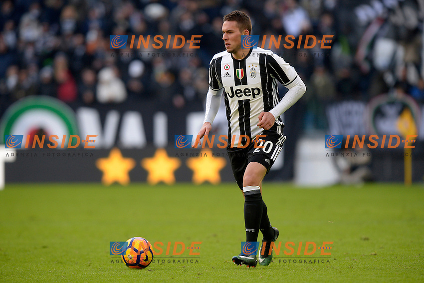 Marko Pjaca Juventus <br /> Torino 22-01-2017 Juventus Stadium Calcio Campionato Italiano Serie A 2016/2017 <br /> Juventus - Lazio <br /> Foto Filippo Alfero Insidefoto