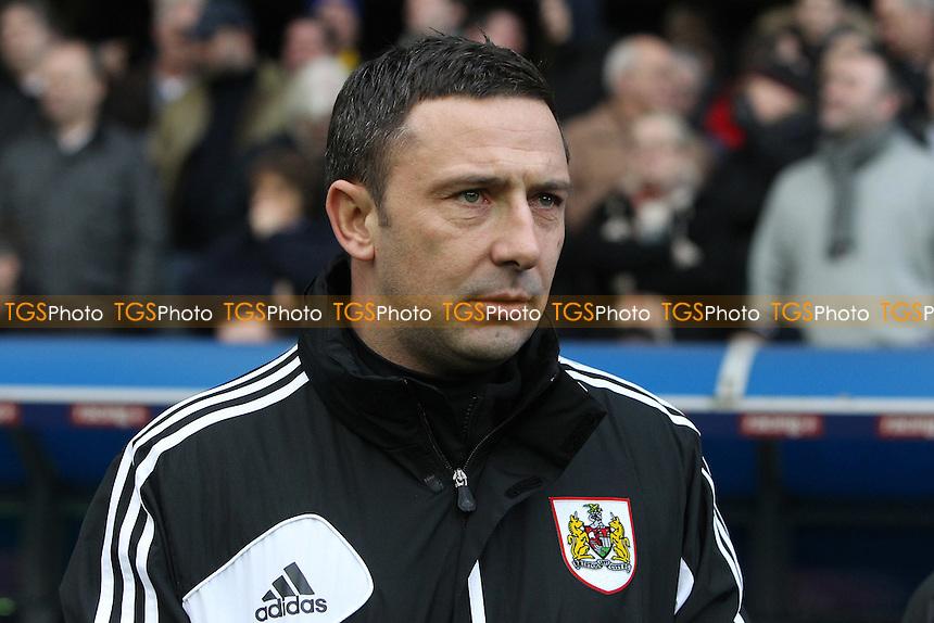 Bristol City manager Derek McInnes - Millwall vs Bristol City - NPower Championship Football at the New Den, London - 01/01/13 - MANDATORY CREDIT: Gavin Ellis/TGSPHOTO - Self billing applies where appropriate - 0845 094 6026 - contact@tgsphoto.co.uk - NO UNPAID USE.