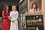 Irina Menzel, Kristen Bell -Star WofF 037 Jackie Tohn  ,  Kristen Bell And Idina Menzel  Honored With Stars On The Hollywood Walk Of Fame on November 19, 2019 in Hollywood, California