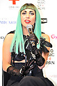 "Lady Gaga, Jun 23, 2011:  Lady Gaga appears at press conference at Billboard Tokyo in Midtown, Roppongi.  The singer is in Japan to attend MTV Video Music Aid Japan and to promote her new album ""Born This Way."""