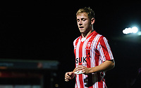 Lincoln City U18's Jon Smith<br /> <br /> Photographer Chris Vaughan/CameraSport<br /> <br /> The FA Youth Cup Second Round - Lincoln City U18 v South Shields U18 - Tuesday 13th November 2018 - Sincil Bank - Lincoln<br />  <br /> World Copyright © 2018 CameraSport. All rights reserved. 43 Linden Ave. Countesthorpe. Leicester. England. LE8 5PG - Tel: +44 (0) 116 277 4147 - admin@camerasport.com - www.camerasport.com