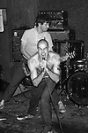 Henry Rollins and Greg Ginn of Black Flag at the Milestone, Charlotte NC, 1981.