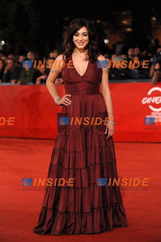Valentina Lodovini<br /> Third edition of the Rome International film festival<br /> Roma 26/10/2008 <br /> Red Carpet  'Il Passato e' una terra straniera&quot;<br /> Photo Andrea Staccioli Insidefoto