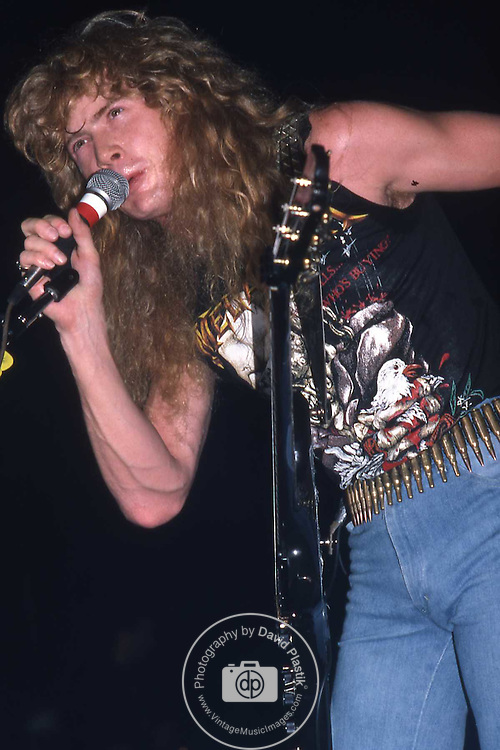 MEGADETH Dave Mustaine ,