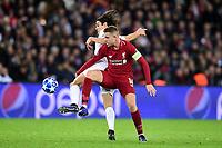CAVANI Edinson (PSG) vs Jordan Henderson (Liverpool) <br /> Parigi 28-11-2018 <br /> Paris Saint Germain - Liverpool Champions League 2018/2019<br /> Foto JB Autissier / Panoramic / Insidefoto <br /> ITALY ONLY