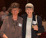Heidemarie Rochlin and Harriet Young during the Kentucky Derby Party at The Peppermill on Saturday, May 6, 2017 in Reno, Nevada.
