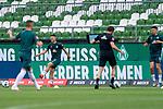 Milot Rashica (Werder Bremen #07), Milos Veljkovic (Werder Bremen #13)<br /> <br /> <br /> Sport: nphgm001: Fussball: 1. Bundesliga: Saison 19/20: 34. Spieltag: SV Werder Bremen vs 1.FC Koeln  27.06.2020<br /> <br /> Foto: gumzmedia/nordphoto/POOL <br /> <br /> DFL regulations prohibit any use of photographs as image sequences and/or quasi-video.<br /> EDITORIAL USE ONLY<br /> National and international News-Agencies OUT.