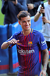 Presentation of Philippe Coutinho as New Player of the FC Barcelona.