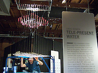 Photos from the Surface Tension exhibit, Eyebeam Gallery, Chelsea