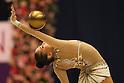 Daria Kondakova (RUS), .OCTOBER 29, 2011 - Rhythmic Gymnastics : .AEON CUP 2011 Worldwide R.G. Club Championships .Ball .at Tokyo Metropolitan Gymnasium, Tokyo, Japan. .(Photo by YUTAKA/AFLO SPORT)