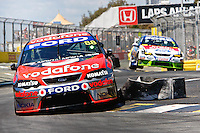 Race 2 action at the Coffee Club V8 Supercar challenge, Gold Goast