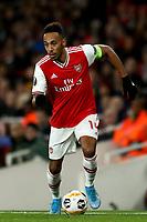 28th November 2019; Emirates Stadium, London, England; UEFA Europa League Football, Arsenal versus Frankfurt; Pierre-Emerick Aubameyang of Arsenal - Editorial Use