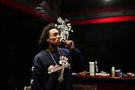 Rapper Gunplay inside of a studio in Atlanta, Georgia April 25, 2013.